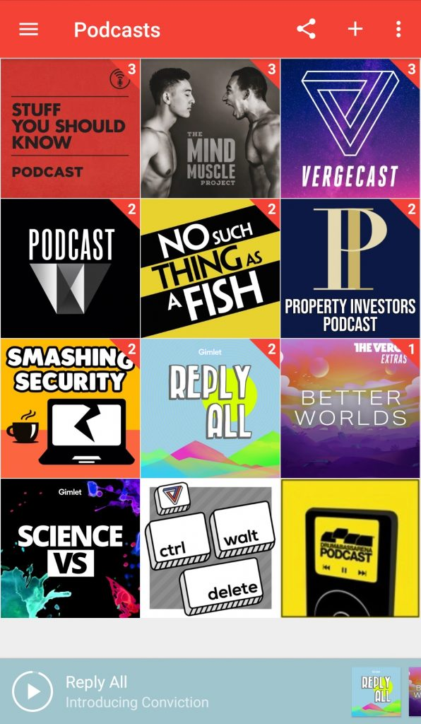 Image of Pocket Casts Podcast Player